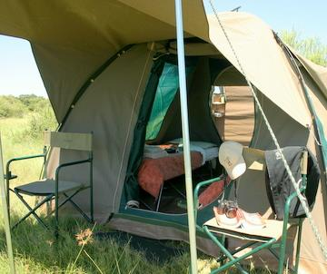 Your two days in Moremi will be spent wild camping in private campsites and exploring the park through a mix of land and water based safari activities.