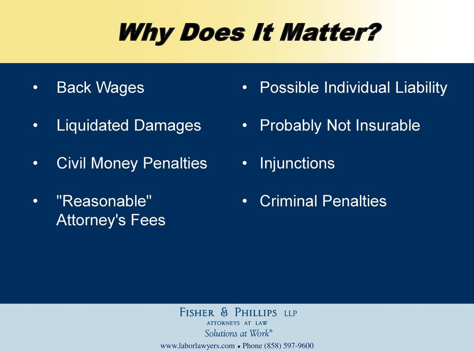 "Penalties ""Reasonable"" Attorney's Fees"