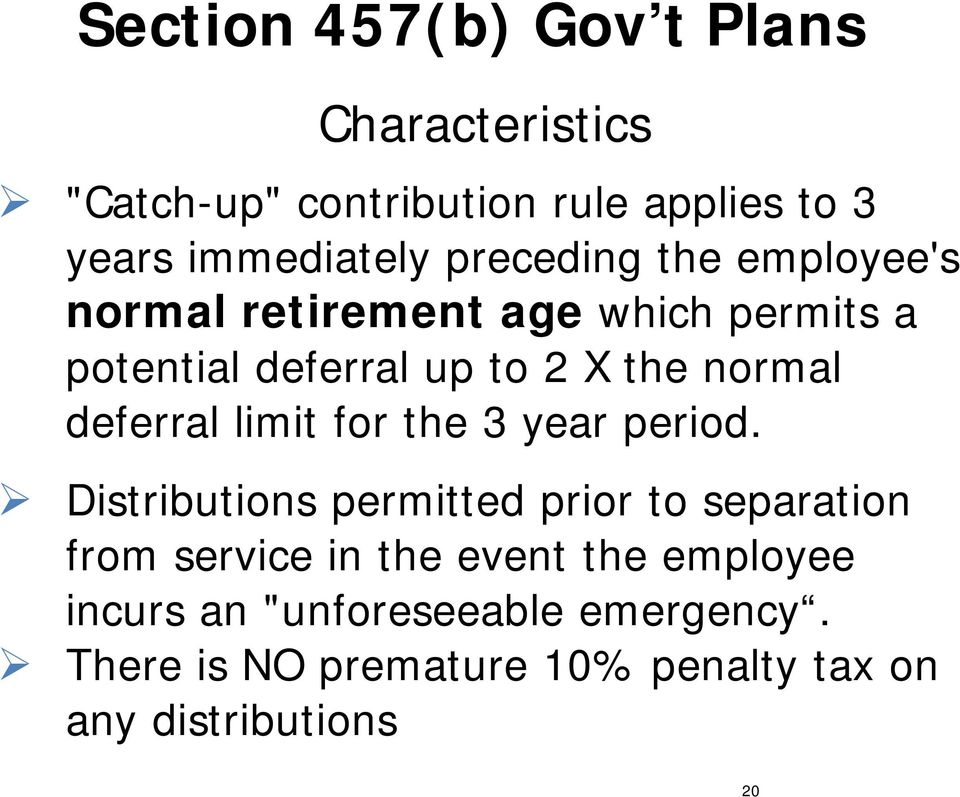 deferral limit for the 3 year period.