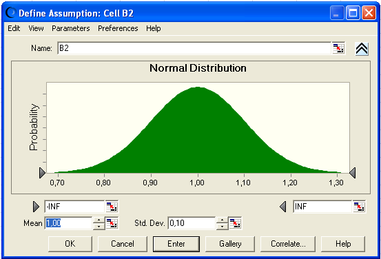Monte Carlo Simulation in Crystal Ball PDF