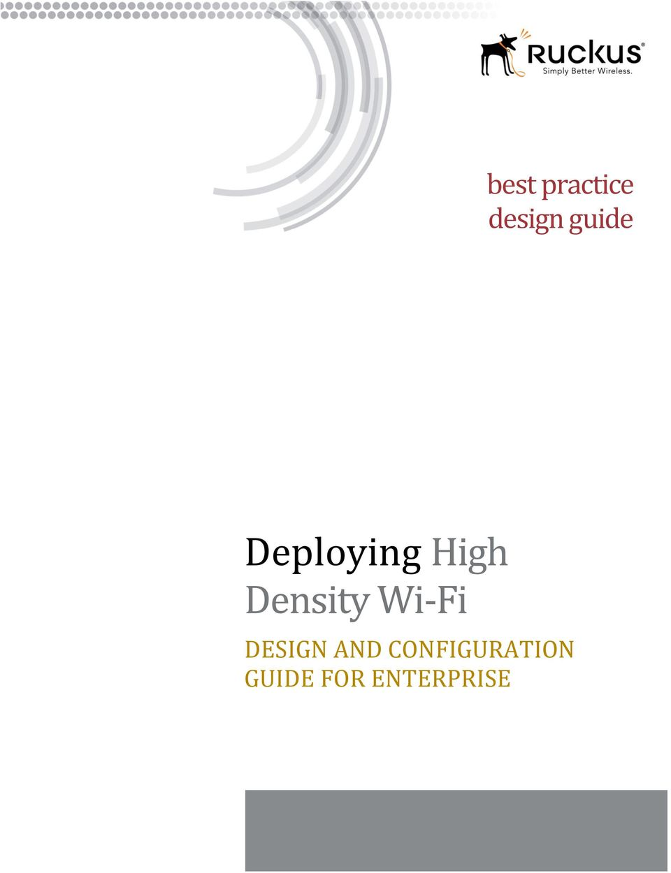 Density Wi- Fi DESIGN AND