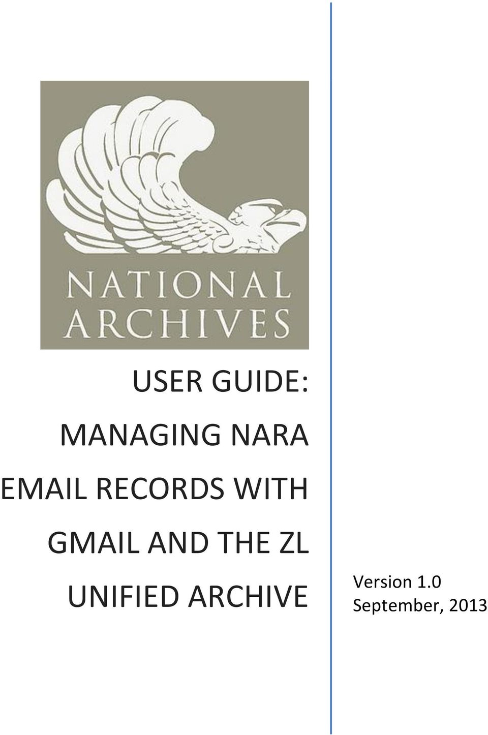 AND THE ZL UNIFIED ARCHIVE