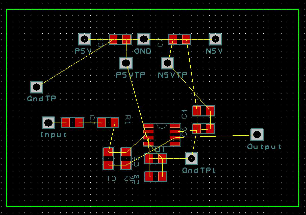 B) Placing Components Once PCB Artist has imported all the components from the schematic it is now the user s job to properly place the components for the layout of the