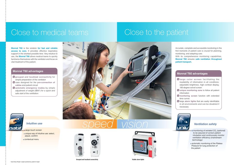 Accurate, complete and accessible monitoring in the first moments of patient care is crucial for planning, monitoring, and adapting care.