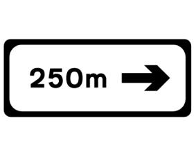 These signs should normally be positioned on the left-hand verge, but may be repeated on the opposite verge for greater emphasis or where the road is on a left-hand curve. 6.15.