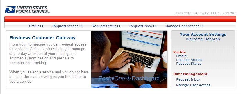 2) Click the Profile link found under Your Account Settings. 3) The CRID is located in the Business Locations table.