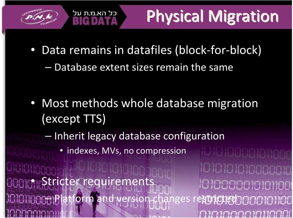 migration (except TTS) Inherit legacy database configuration indexes,