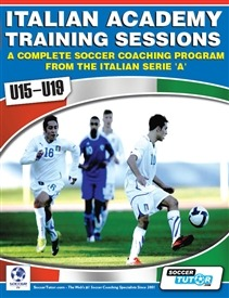 SIS Academy Coaching Books Italian Academy Training Sessions Book for U11-14 - A Complete Coaching Program A Complete Soccer Coaching Program from the Academies of the Italian Serie A' This book