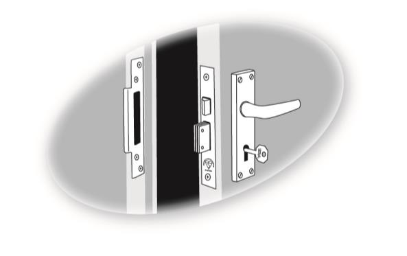What locks do I have Timber Doors Introduction Locking mechanisms on doors are varied and it can be difficult to judge whether what you have is good, bad or indifferent.