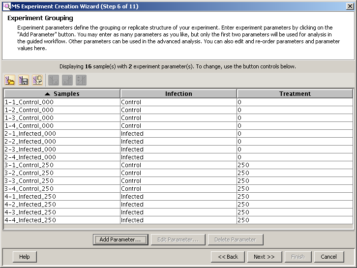 Import and organize data Order and group the data files