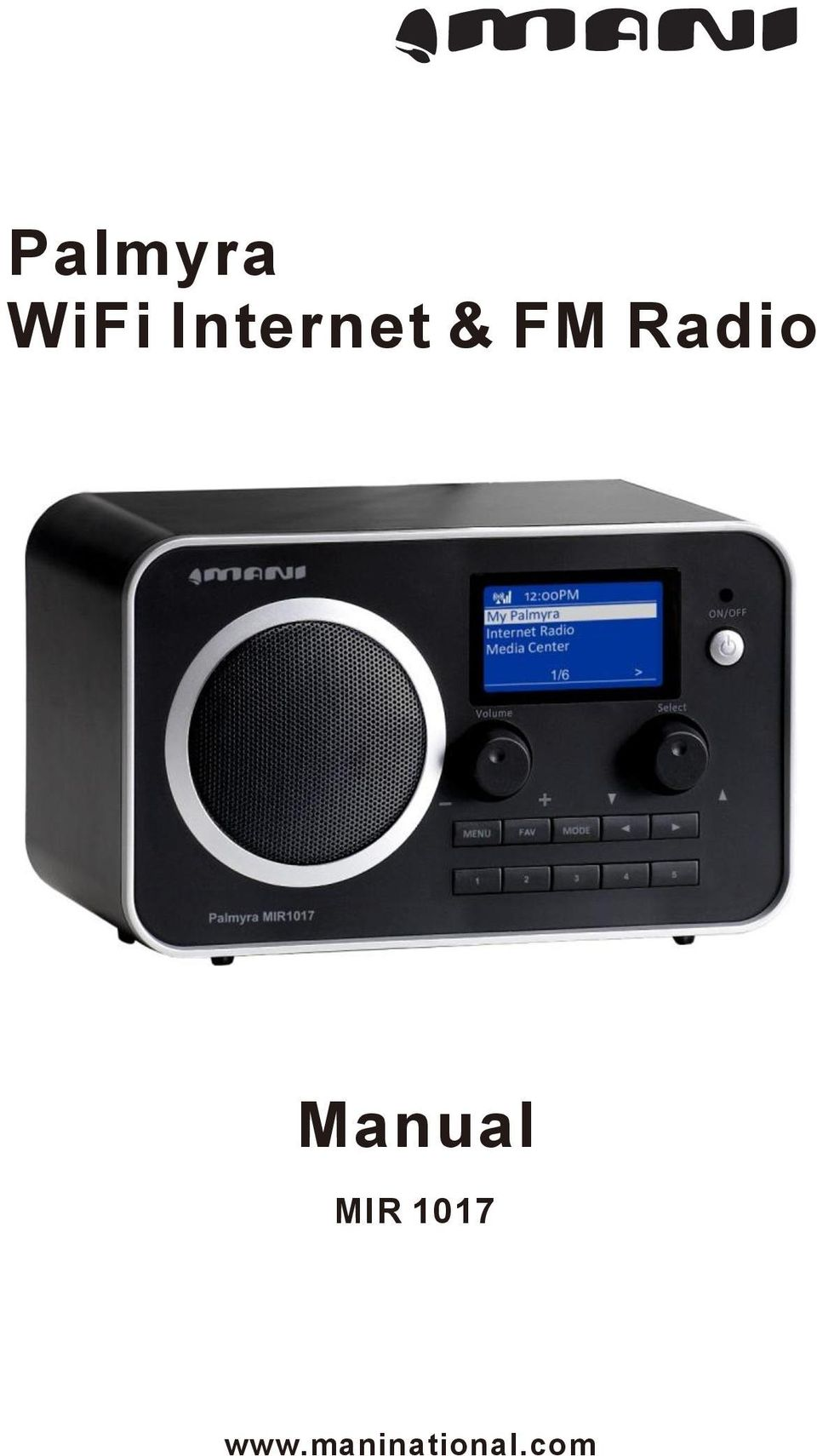 Radio Manual MIR