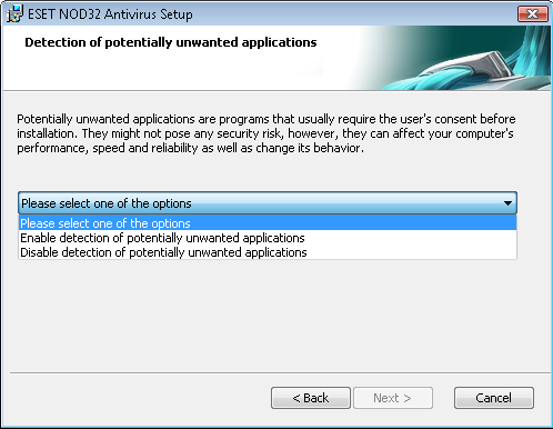 2. Installation After purchase, the ESET NOD32 Antivirus installer can be downloaded from ESET s website as an.msi package.
