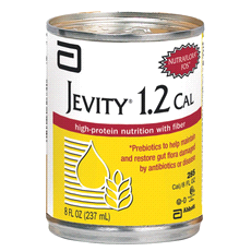 JEVITY 1.2 CAL is a high-protein, fiber-fortified formula that provides Complete, Balanced Nutrition for long- or short-term tube feeding. For tube feeding. For supplemental or sole-source nutrition.