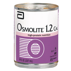 OSMOLITE 1.2 CAL is a source of Complete, Balanced Nutrition and a high-protein, lowresidue formula for tube-fed patients who may benefit from increased protein and calories. For tube feeding.