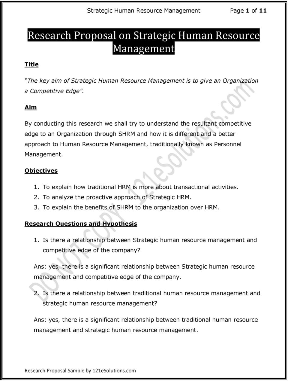 thesis on human resource management system Human resource management human resource management involves the management of the human resources needed by an organization and also being certain that human resource is acquired and maintained for purposes of promoting the organization's vision leading compensation and benefits.