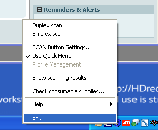 6. Look for the ScanSnap Manager icon it s a blue circle with an S on it -- in the Windows system tray on the bottom right of your computer screen.
