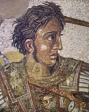 ALEXANDER THE GREAT (356 BC) Student of Aristotle: Prince of Macedon (upper Greece) Conquered Egypt and Persia Promoted religious and