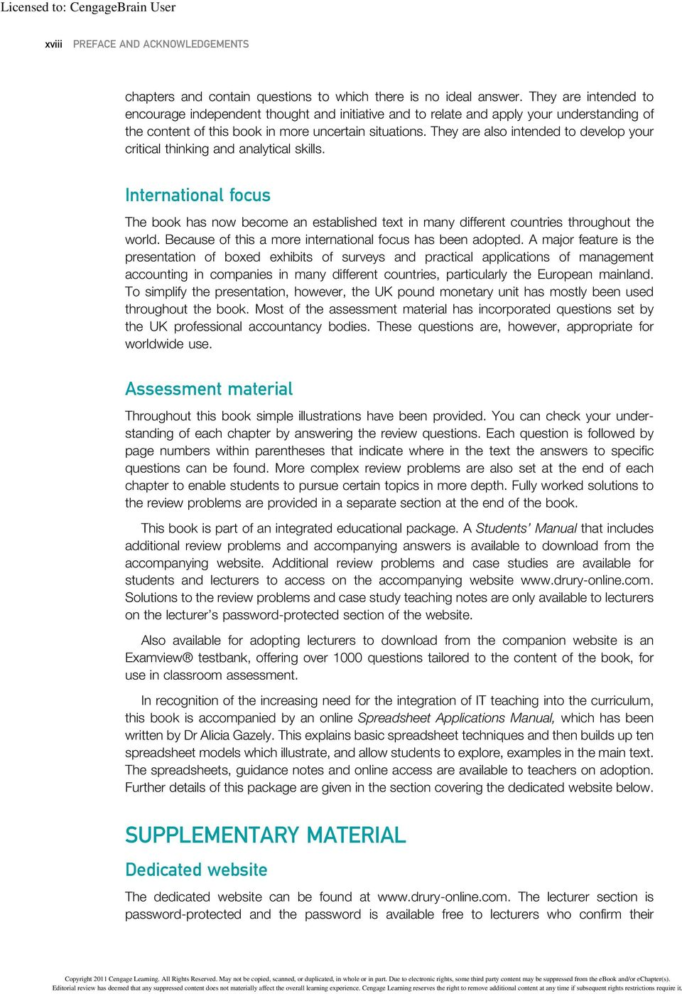 management and cost accounting student manual pdf