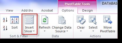 Slicers provide a better interface for filtering and allow you to perform the same filter across multiple Pivot Tables.