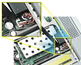 3. Disconnect the 3-pin backup battery connector from the logic board. 4. Remove the bottom case.
