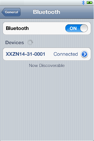 5) Confirm PIN code for bluetooth pairing.