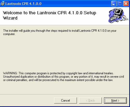 3.1 Installing the Com Port Redirector Software To install Com Port Redirector: 1.