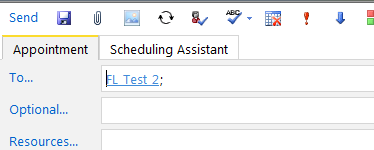Exhibit B.8. Appointment Information B.1.1.4 Check Spelling in an Appointment Calendar, New, Appointment If Check Spelling is enabled, the icon will be displayed in the toolbar.