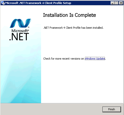 Now let s download the Microsoft.NET Framework4 Client Profile. In your browser, let s go to http://www.microsoft.com/download/en/details.aspx?