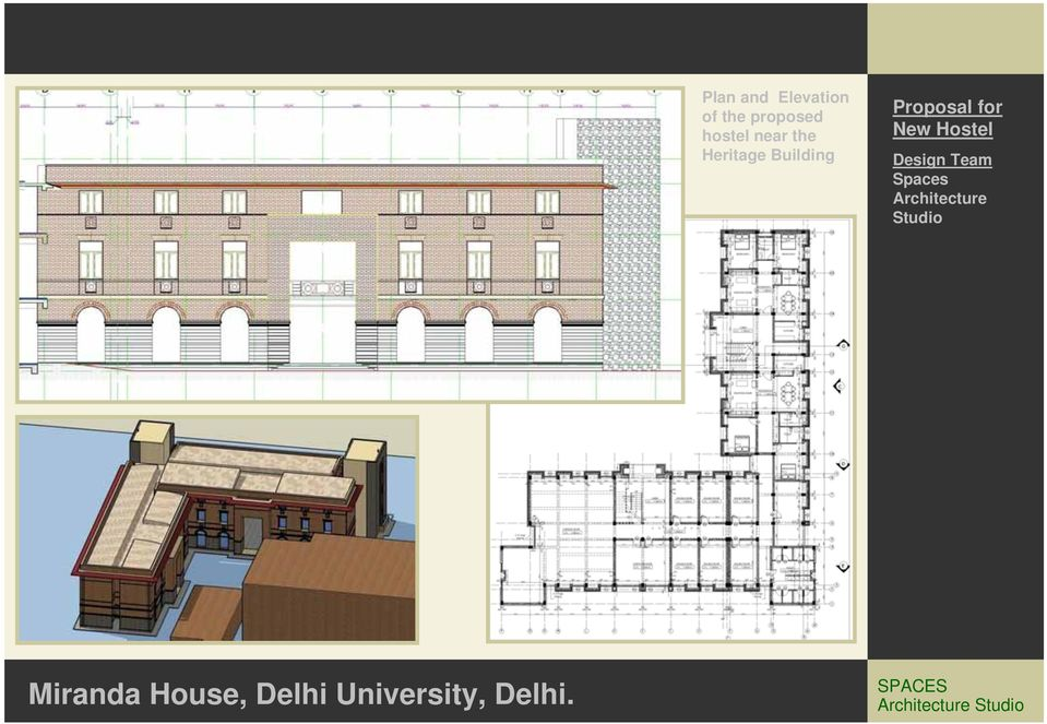 Proposal for New Hostel Design Team