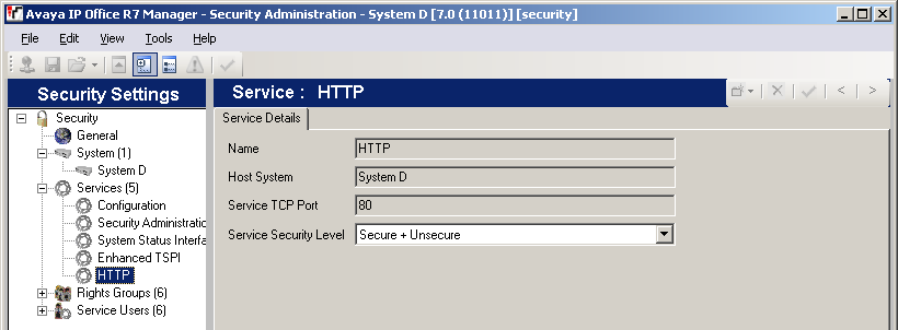 2. Additional Processes 2.1 Using HTTPS For additional security, IP Office Softphone users can be connected to the IP Office using HTTPS rather than HTTP.