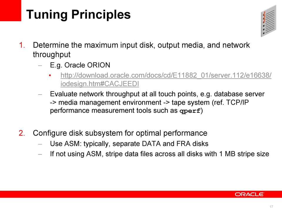 TCP/IP performance measurement tools such as qperf) 2.