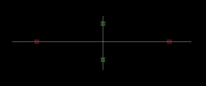 this example where the VP is in the center of the frame this vertical line is the only line we can measure off the plan. All other lines will diminish away to the VP s.