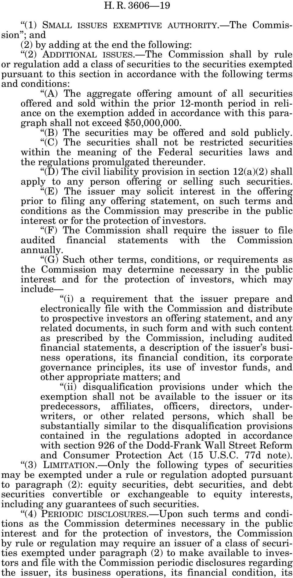 offering amount of all securities offered and sold within the prior 12-month period in reliance on the exemption added in accordance with this paragraph shall not exceed $50,000,000.