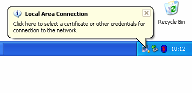 Date: 02.01.2006 Version: 2.1 Status: Complete Page 6 of 6 4. Connect to Netlogon - Plug your PC into a Netlogon network outlet.