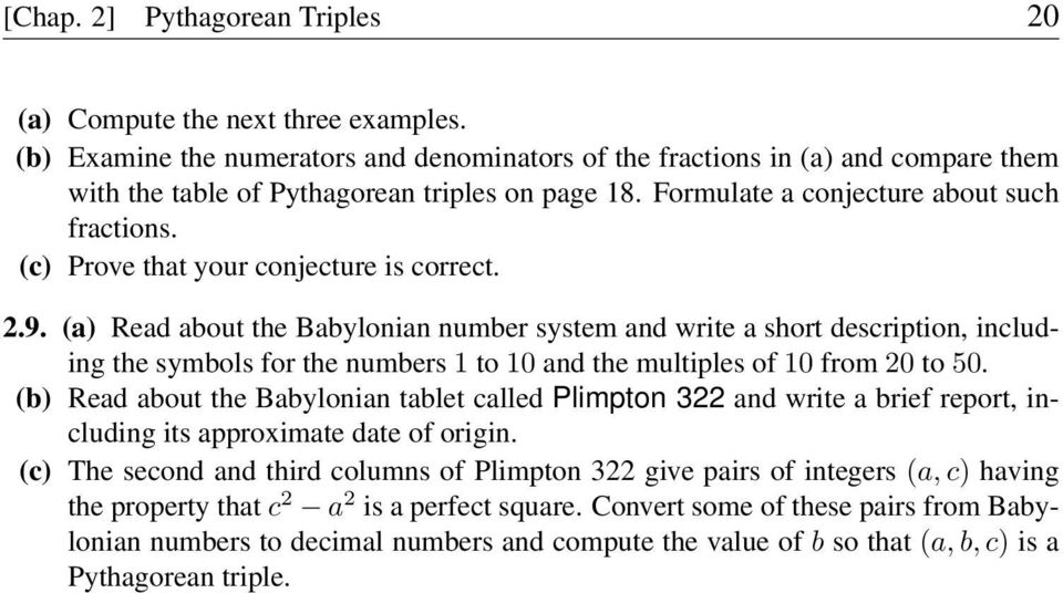 (c) Prove that your conjecture is correct. 2.9.