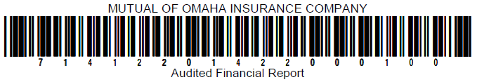 Mutual of Omaha Insurance Company Statutory Financial Statements as of and for the Years Ended December 31, 2014