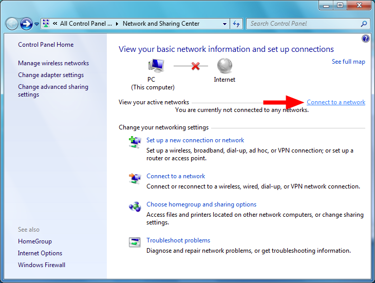 Windows Vista/7/8 The wireless network adapter will appear as a small icon in the System Tray (next to the clock).