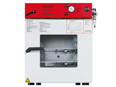Vacuum drying ovens VDL 53 - Vacuum drying oven for flammable solvents The VDL series ensures maximum safety when drying organic solvents in accordance with TÜV/GS guidelines.