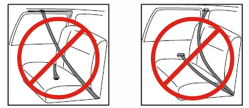 Section 2: Safety Information (continued) Vehicle Seat Belt Systems: IMPORTANT: Some vehicles have no seating positions compatible with booster seats.