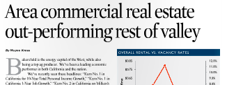COMMERCIAL REAL ESTATE During the Great Recession, commercial and industrial vacancy rates rose sharply.