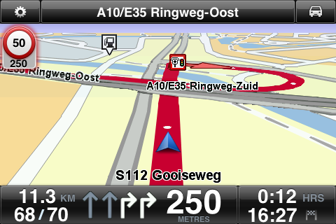 To find out if Advanced Lane Guidance is available in your country, go to tomtom.com/iphone.