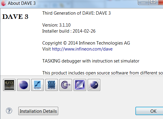 DAVE Development Platform Before starting this tutorial please download and install DAVE. The download package contains detailed installation instructions.