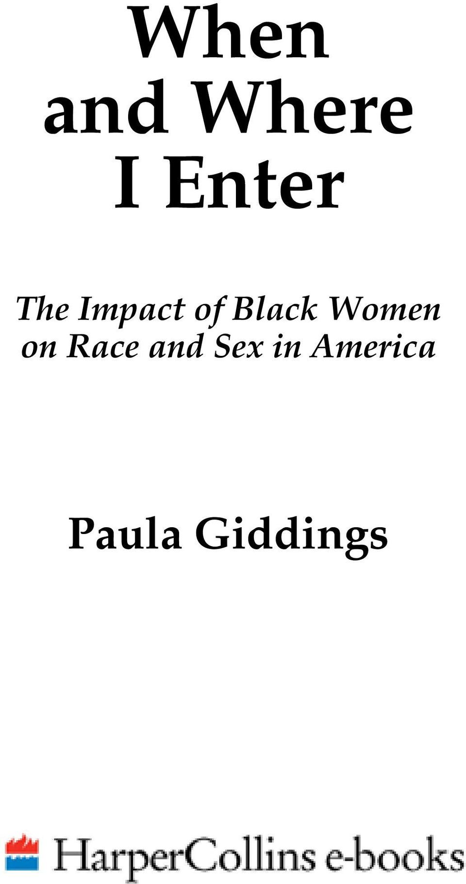Women on Race and Sex
