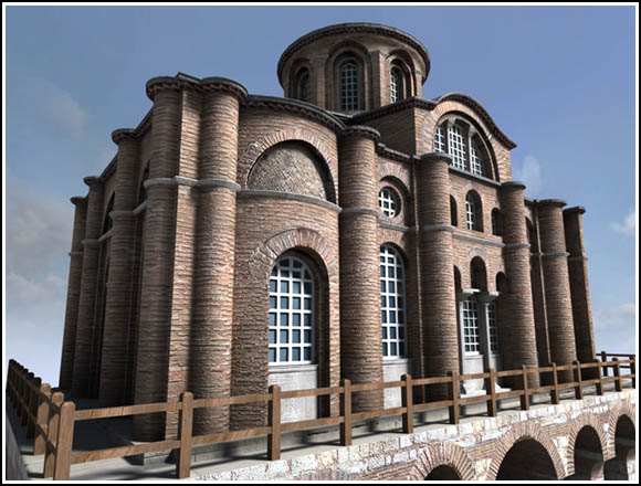 Fig 2: The exterior of Myrelaion Church from www.byzantium1200.com Romanos Lecapenos was an emperor during 920 to 944.