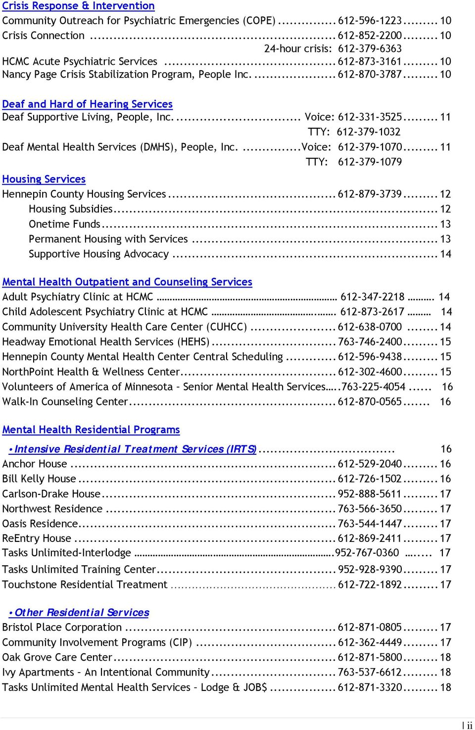 Adult Behavioral Health Services Directory Pdf