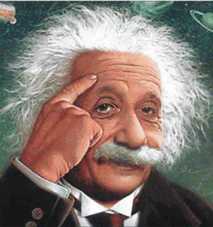 Einstein put it this way: The significant problems we face cannot be