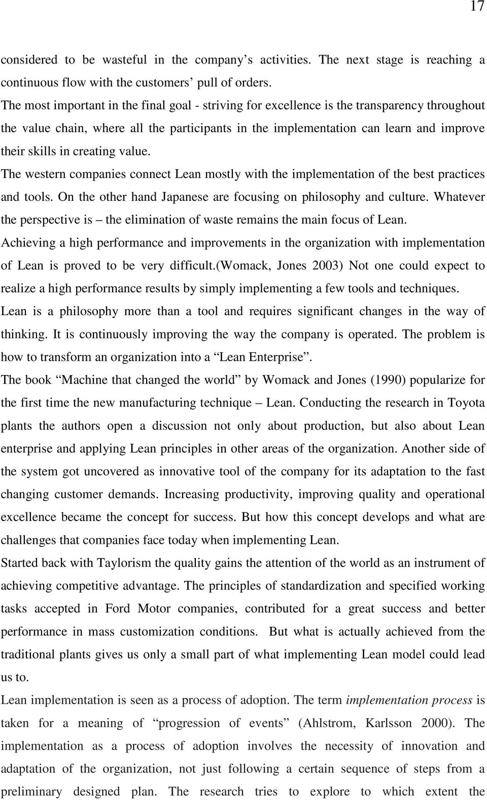 """lean thesis • compare and contrast the two approaches that you select- focus on what is """"similar"""" and what is """"different"""" between the two approaches • describe what unique contributions to quality each of the two approaches bring."""