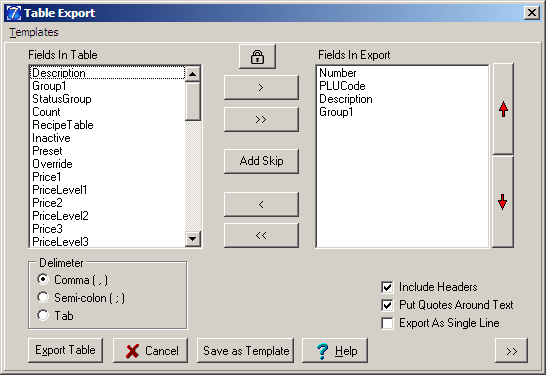 Setting up Auto Import/Export for Version 7 The export feature button is available in the program Maintain Area of the software and is conveniently located in the grid toolbar.