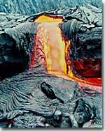 IGNEOUS ROCKS Igneous rocks form when molten rock cools and becomes solid. Molten rock is called magma when it is below the Earth s surface.