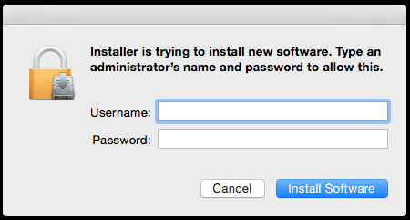 7. Click Install. This will redirect you to a login page. 8.